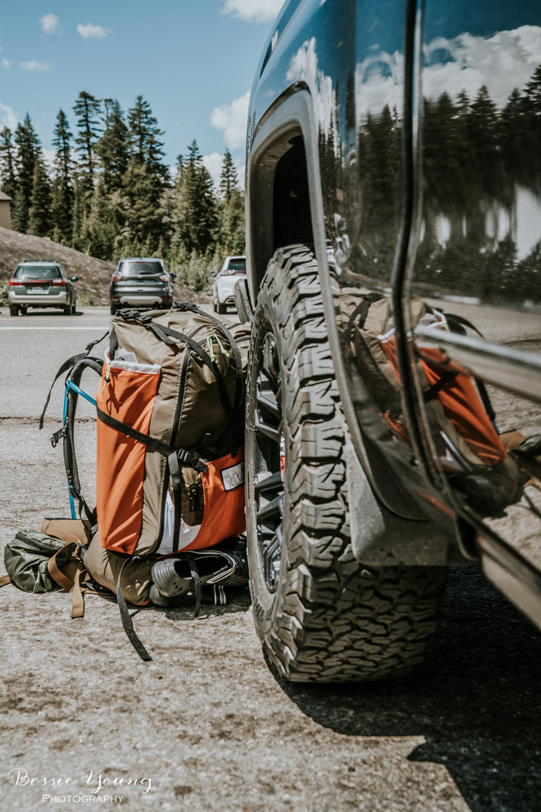 Ansel Adams Wilderness Backpacking day 1 2017 - Bessie Young Photography-3.jpg