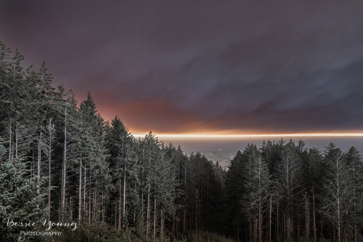 Chetco Bar Fire by Bessie Young