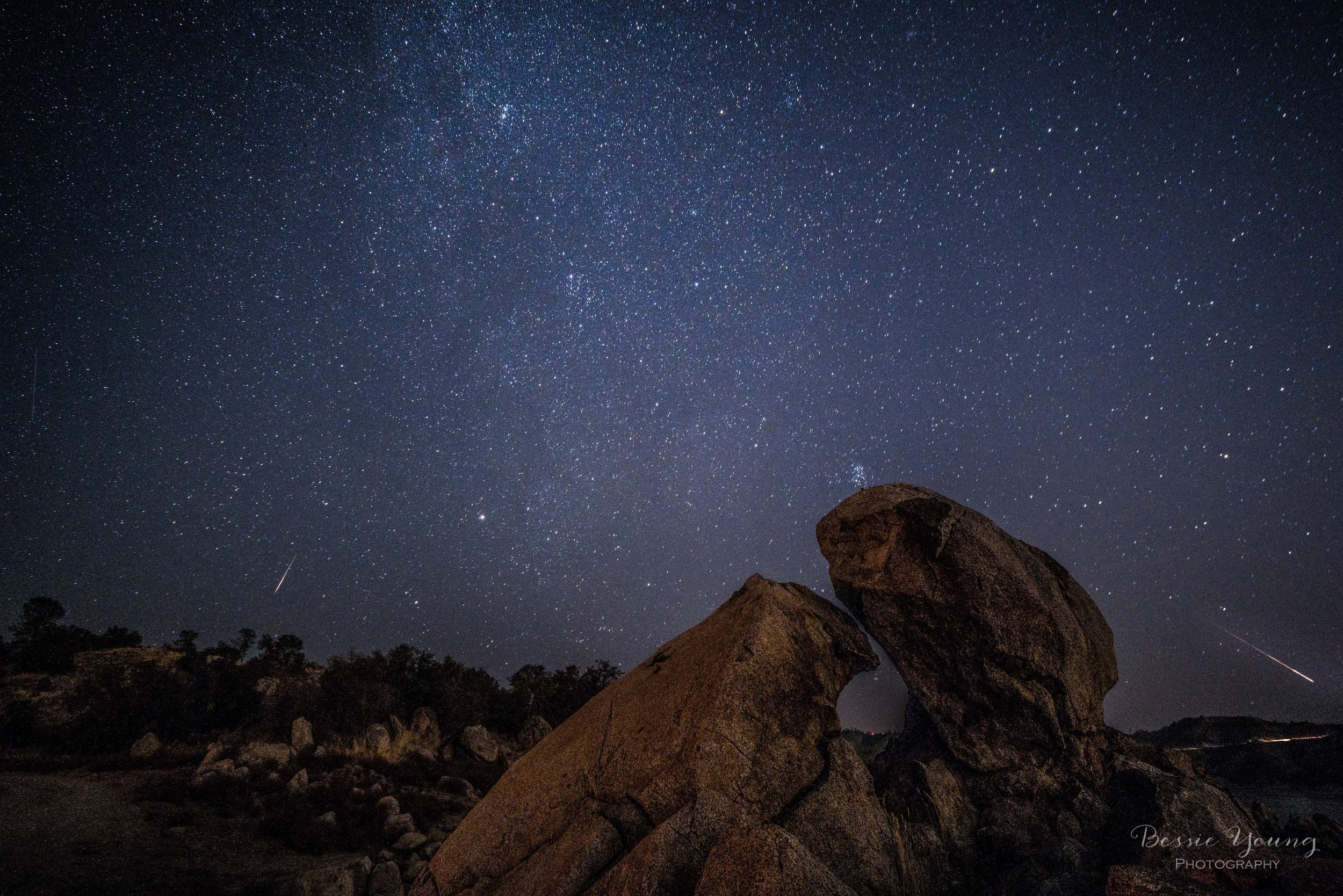 Perseid Meteor Shower by Bessie Young Photography