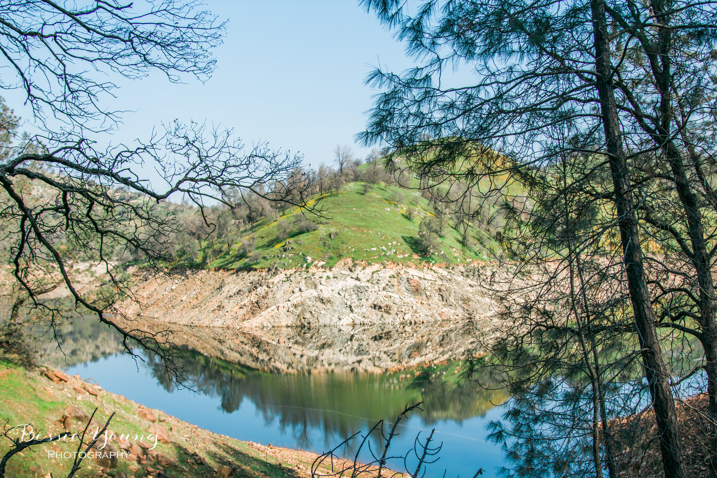 San Joaquin River Trail - California Hiking Trail by Bessie Young Photography