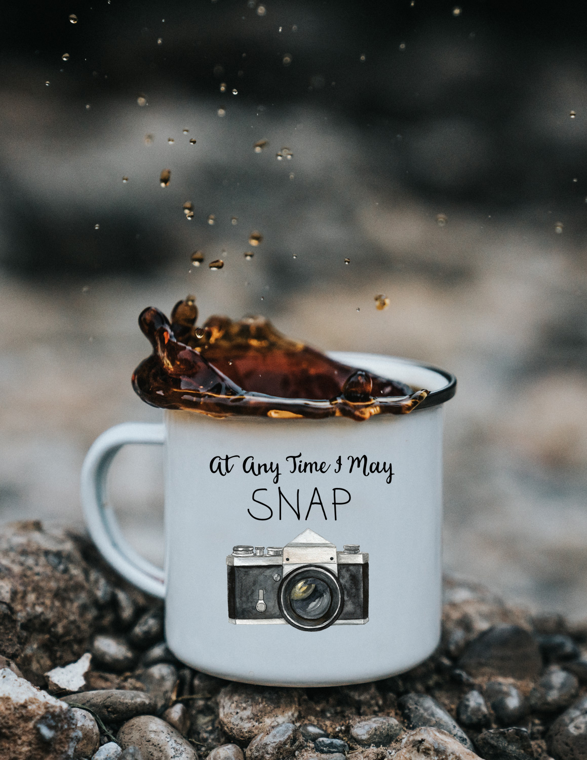 Camp Coffee Mug At Any Time I May Snap Bessie Young Photography