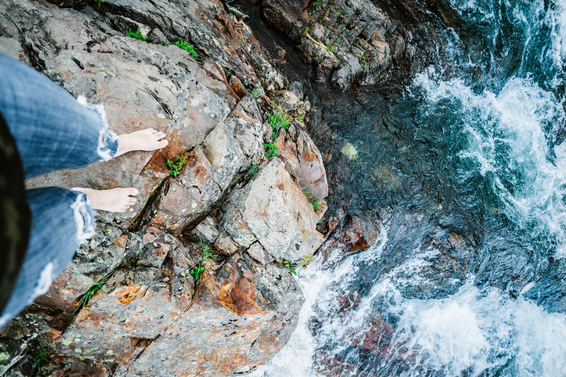 How to Photograph Wafterfalls - Glenn Alpine Waterfall South Lake Tahoe