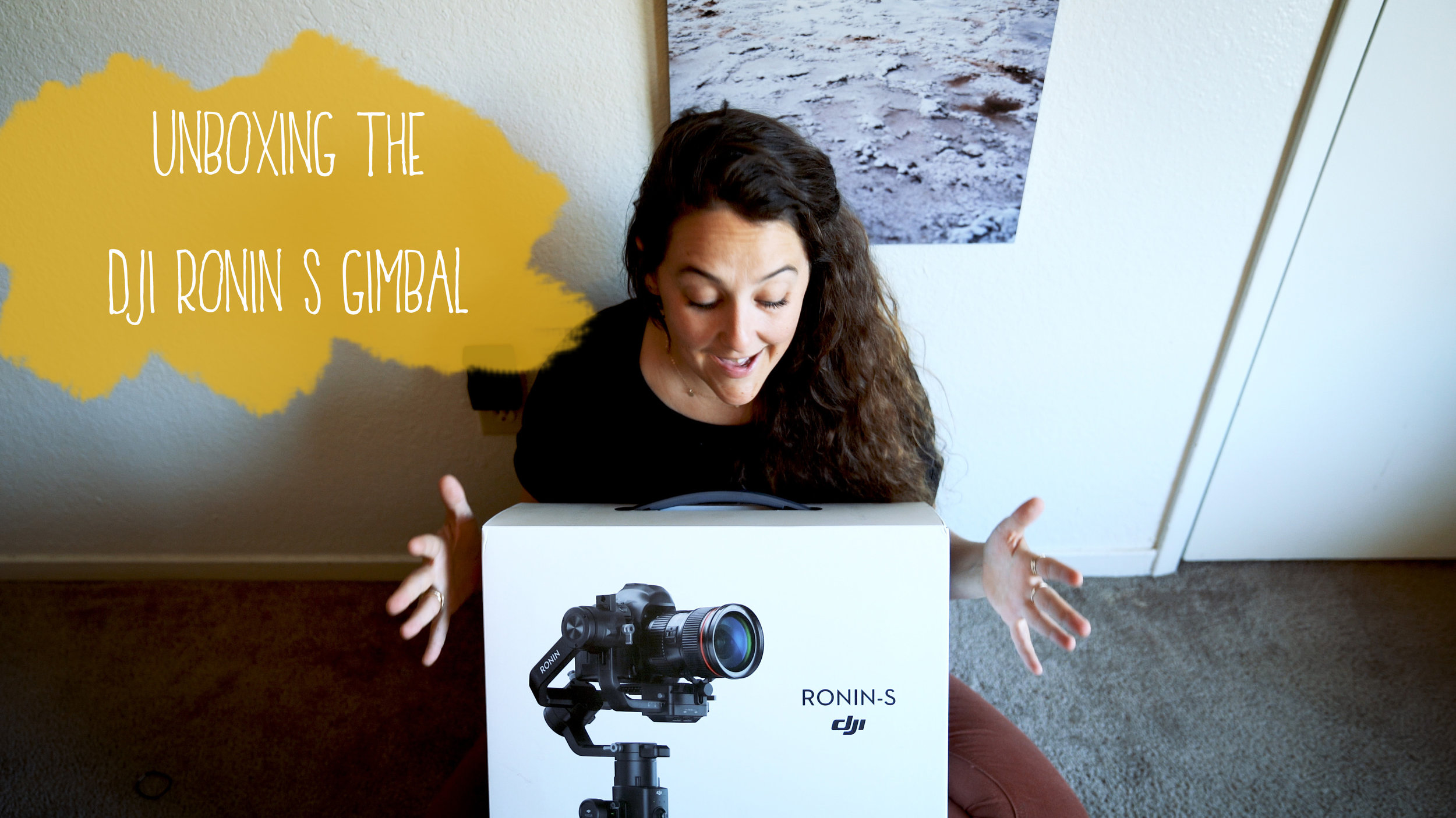 Unboxing the Ronin S Gimbal Stabilizer for DSLR or Full Frames