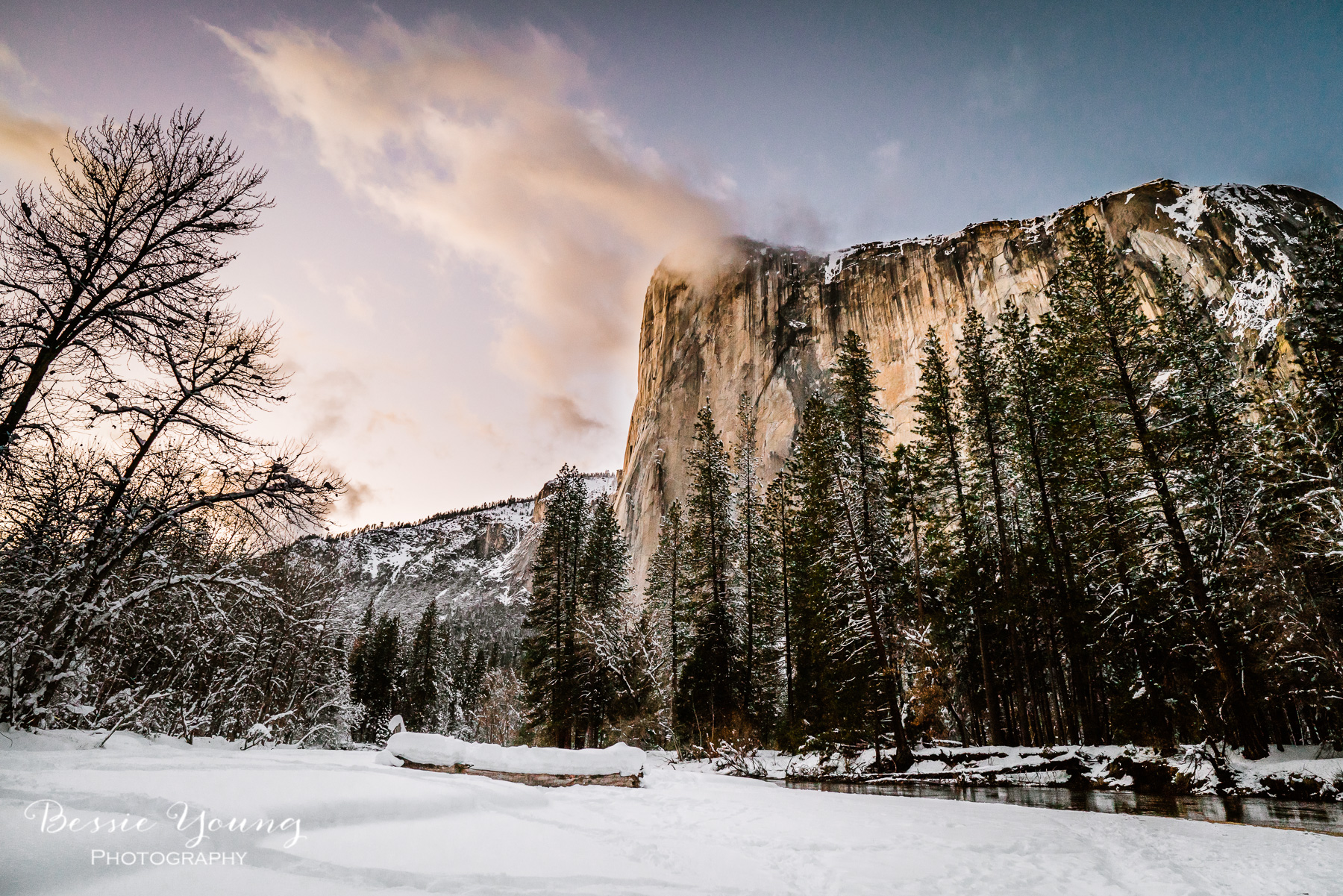 Yosemite National Park Photography - Yosemite Firefall 2019 by Bessie Young Photography