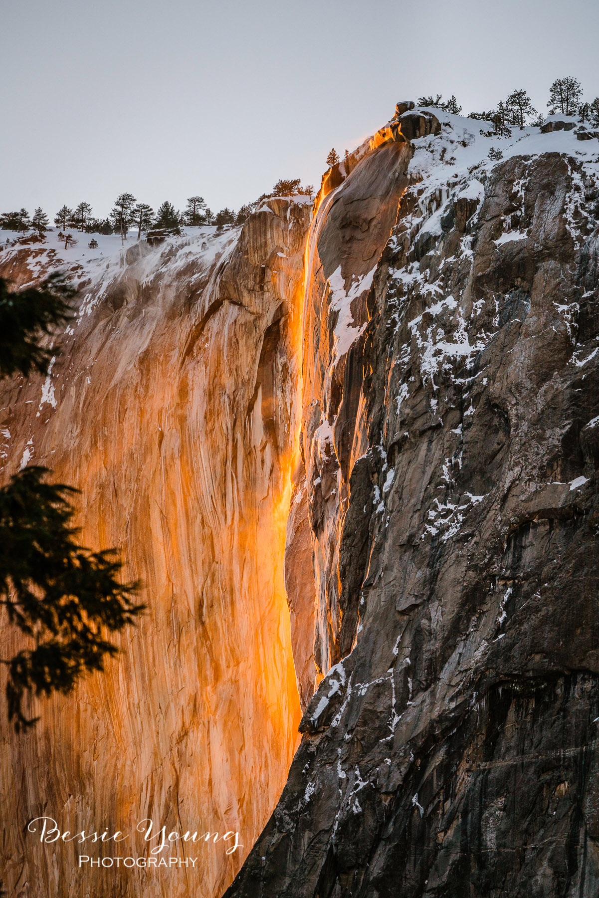 Yosemite National Park Firefall 2019 - Horsetail Fall - Landscape Photography by Bessie Young Photography 7.jpg