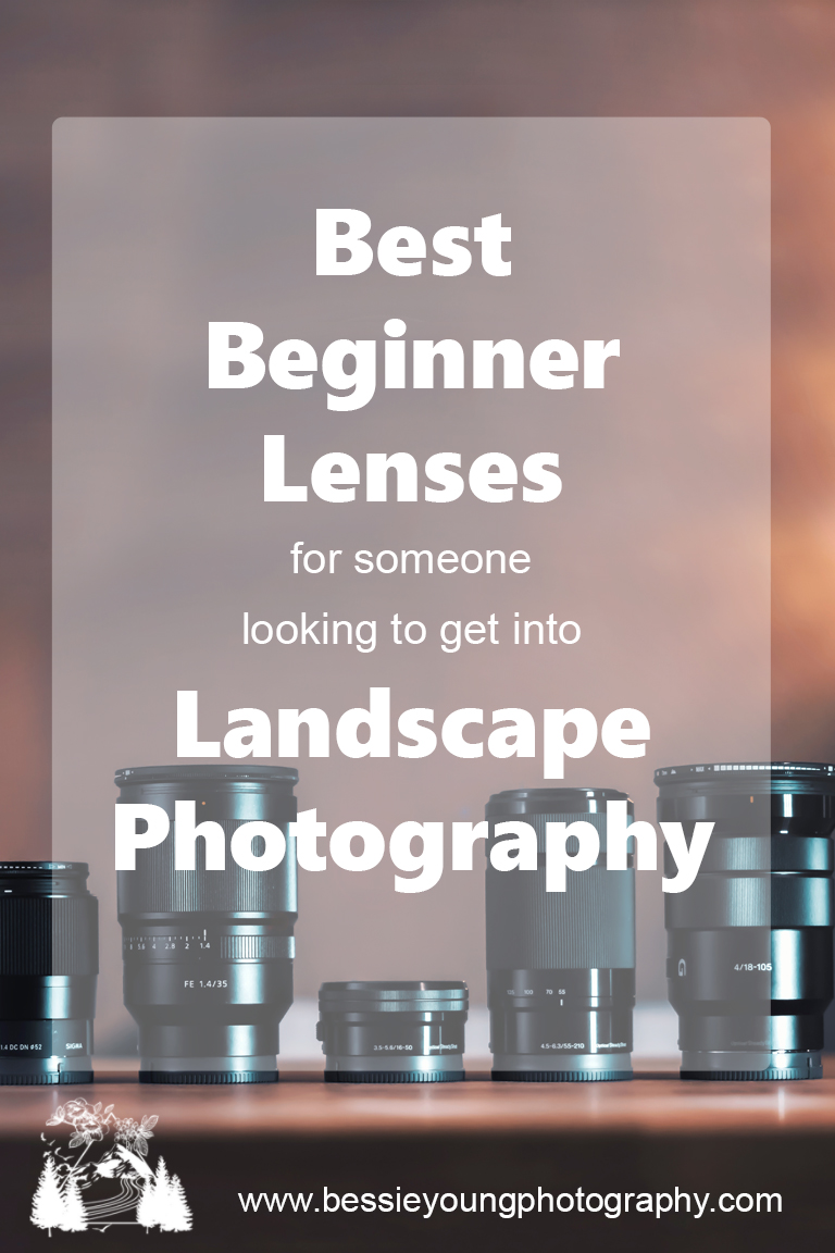 Best Beginner Lenses for Landscape Photography Tips and Ticks for Beginner Photographers by Bessie Young Photography .jpg