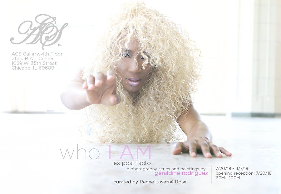 who I AM - Solo Exhibit | ACS GalleryJuly 20, 2018 - September 14, 2018