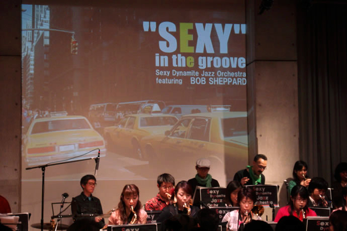 Sexy Dynamite Jazz Orchestra featuring Bob Sheppard
