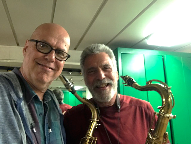 Eddie Daniels and Shep at the Jazz Cruise 2017