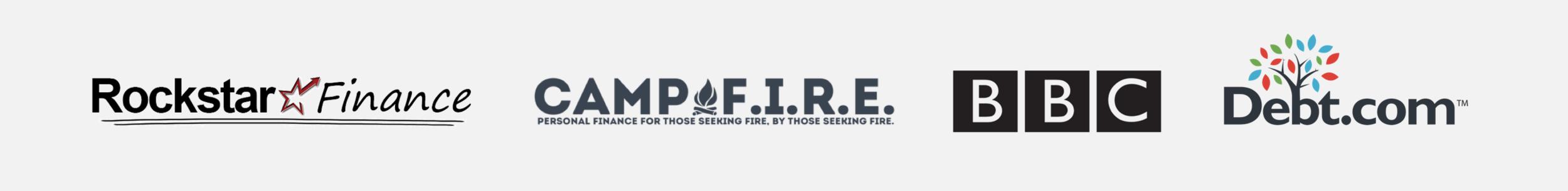 Featured on Rockstar Finance, Campfire Finance, BBC, and Debt.com