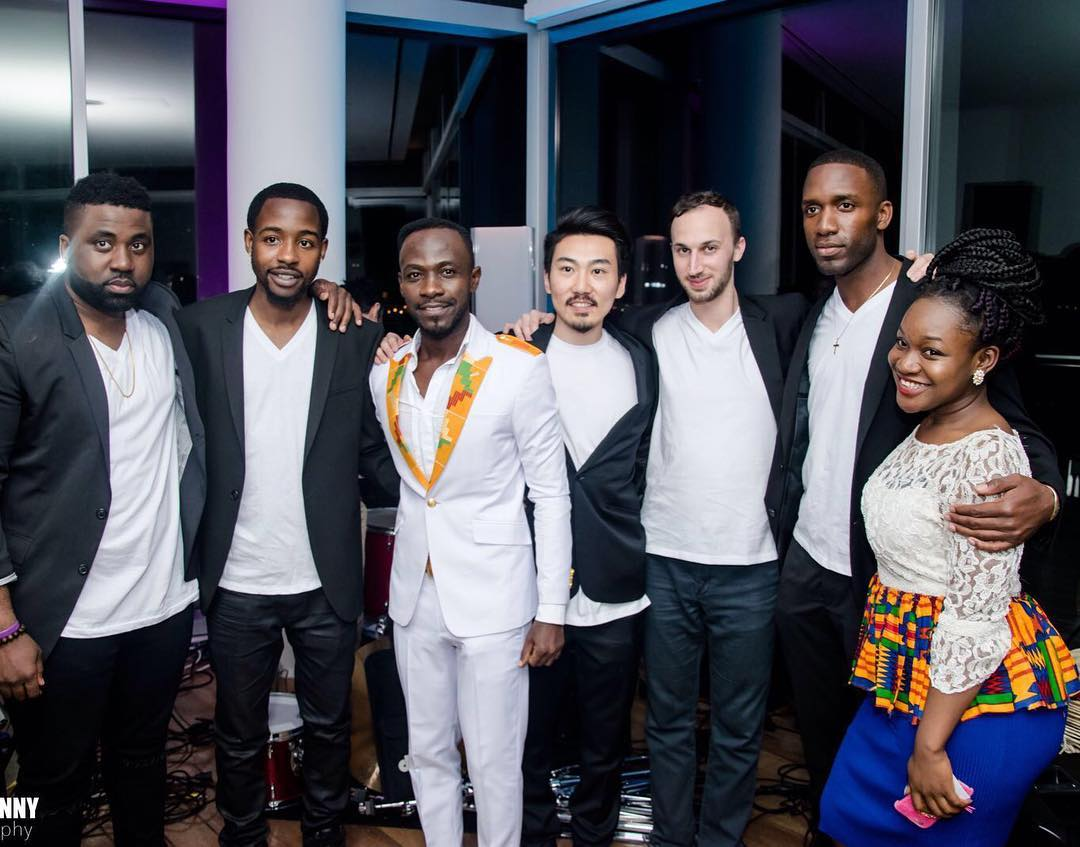 Okyeame Kwame at the Standard Hotel