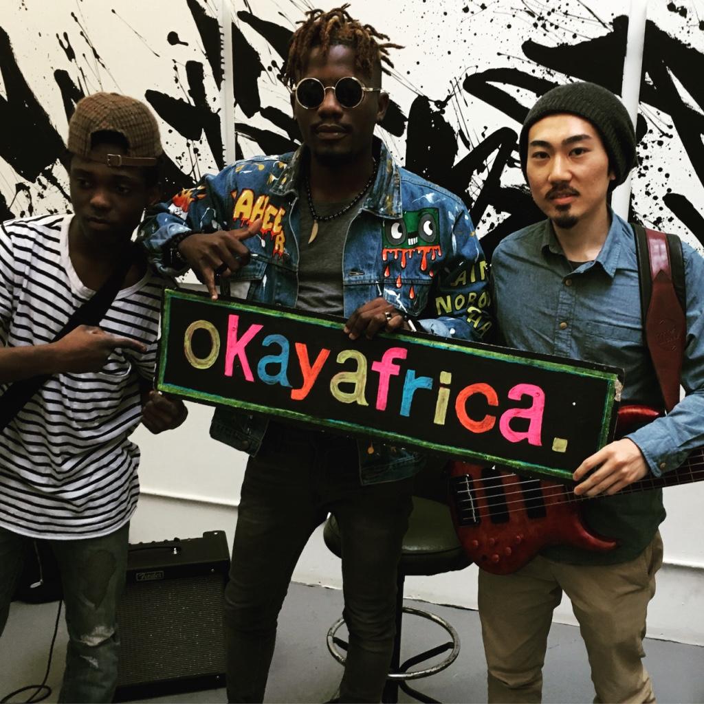 Ycee at Okayafrica