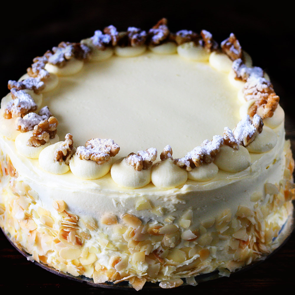 California Carrot Cake -  Whole: $25.90 / Half: $14.50