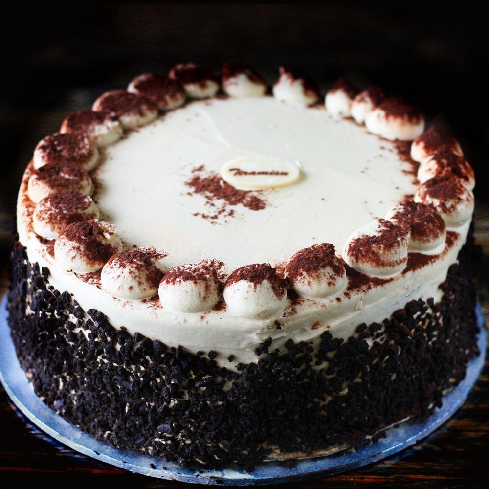 Tiramisu Torte - Whole: $25.90 / Half: $14.50