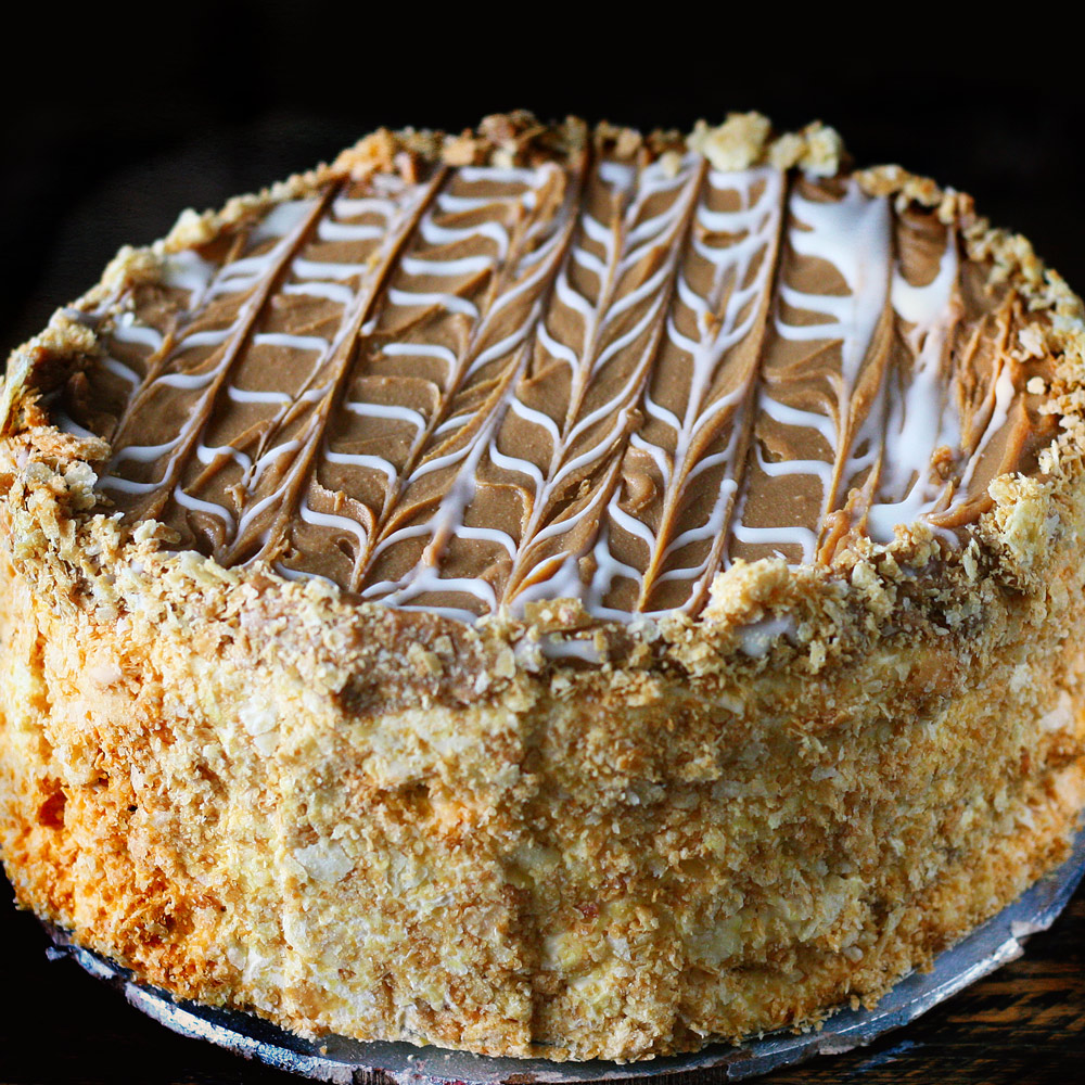 Caramel Dream Cake   -  Whole: $25.90 / Half: $14.50