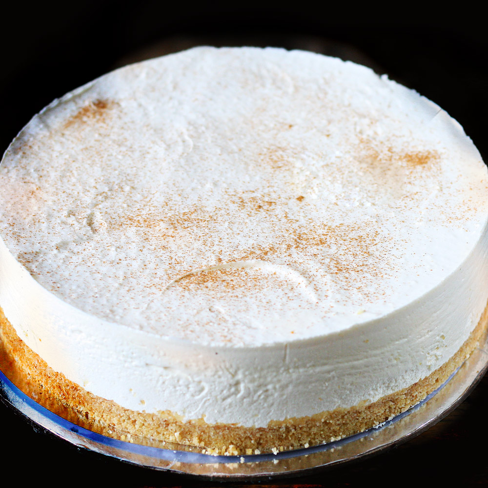 Vanilla Chilled Cheesecake -  Whole: $24.90 / Half: $14.00