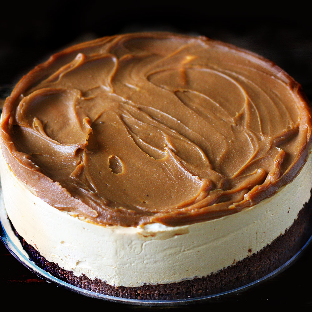 Caramel Chilled Cheesecake -  Whole: $24.90 / Half: $14.00
