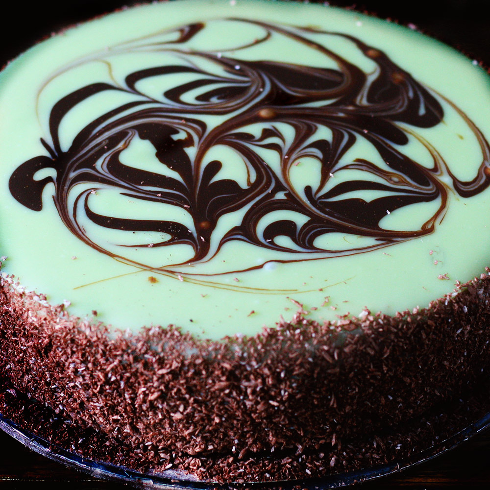 Pistachio Mud Cake -  Whole: $26.90 / Half: $15.00