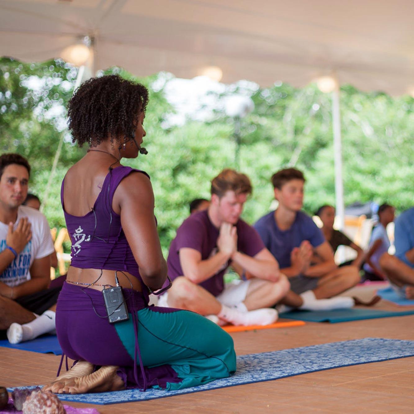 Leslie Salmon Jones - Co-Founder of Afro Flow Yoga