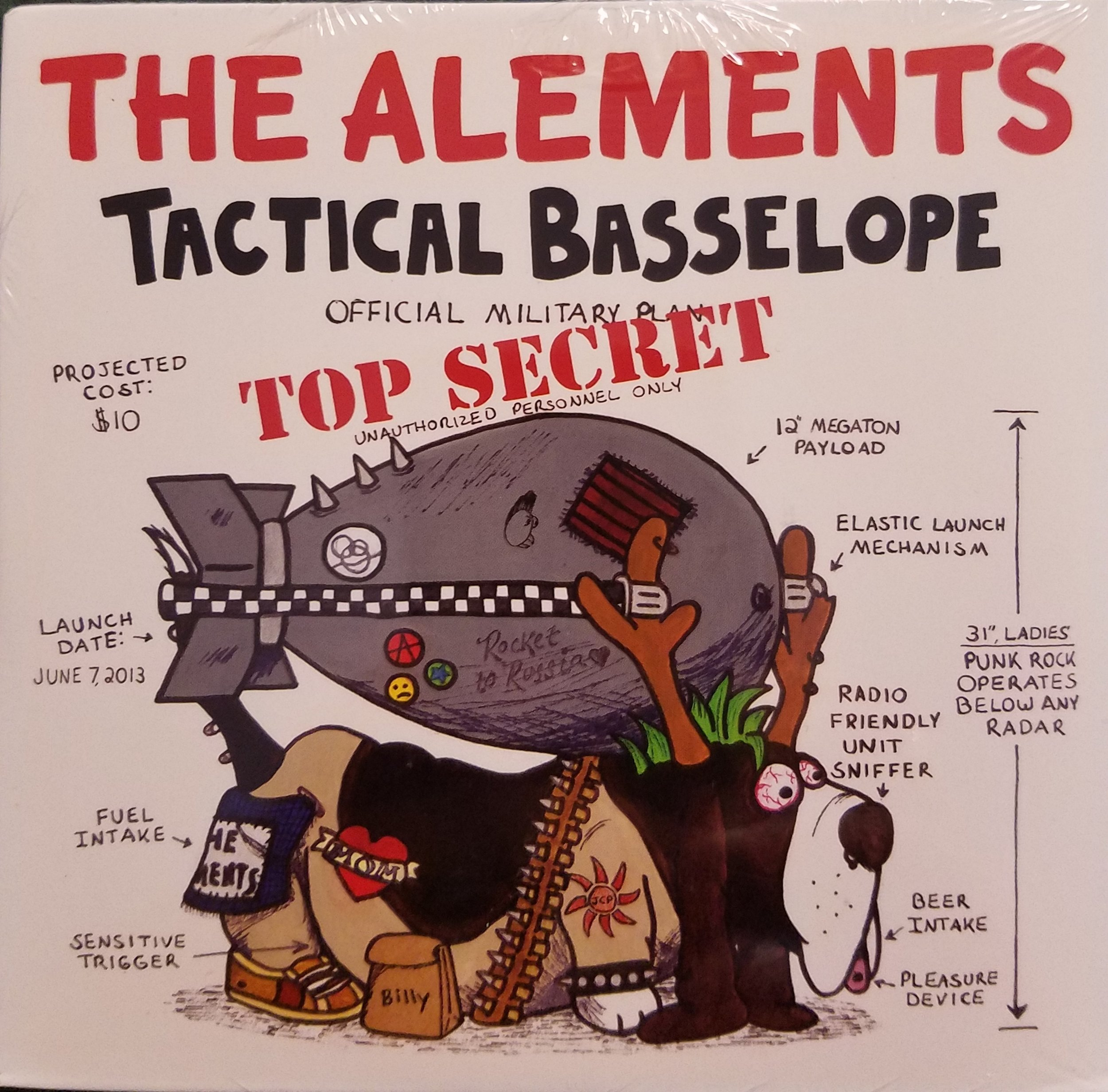 Tactical Basselope, LP 2015