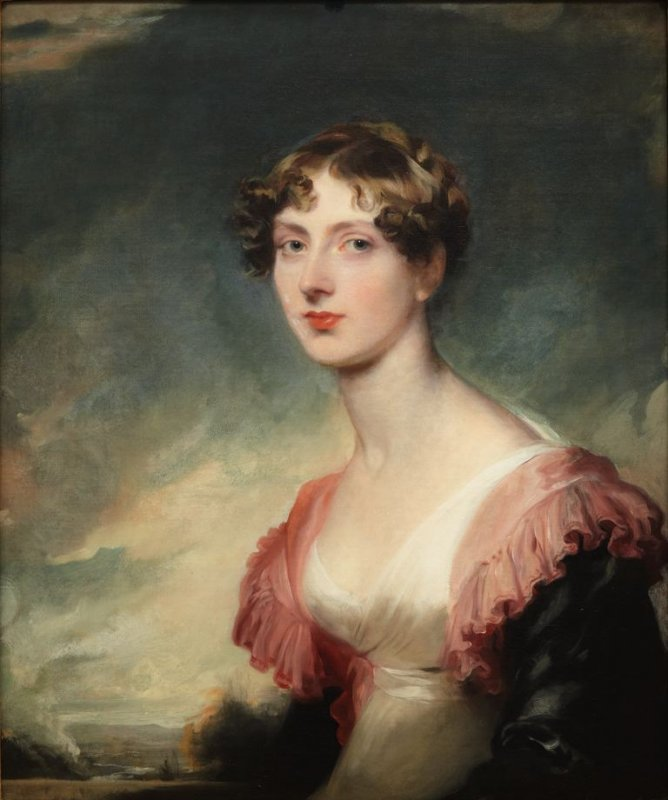 """Mary, Countess of Plymouth"" by Sir Thomas Lawrence, 1817. This portrait is in the Legion of Honor museum here in SF and a friend once told me Countess Mary reminded her of me!"