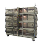 Super Brooder/Heated Cages - Young Chicks