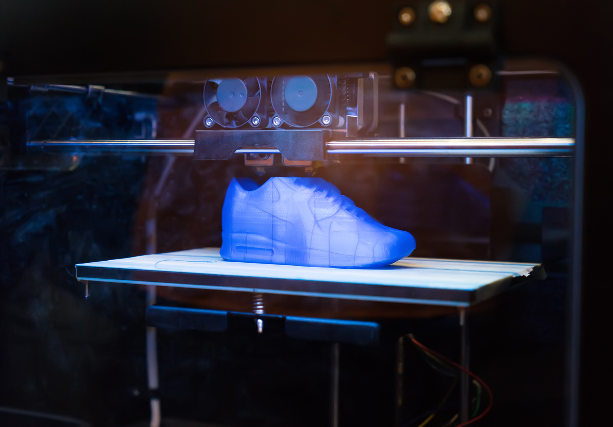 A 3D printed shoe - what does this mean for 5.4 million people who work in this industry.