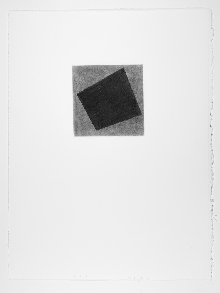 """Daily Drawing 11.21.15, 2015  Graphite pencil on paper,15"""" x 11"""""""