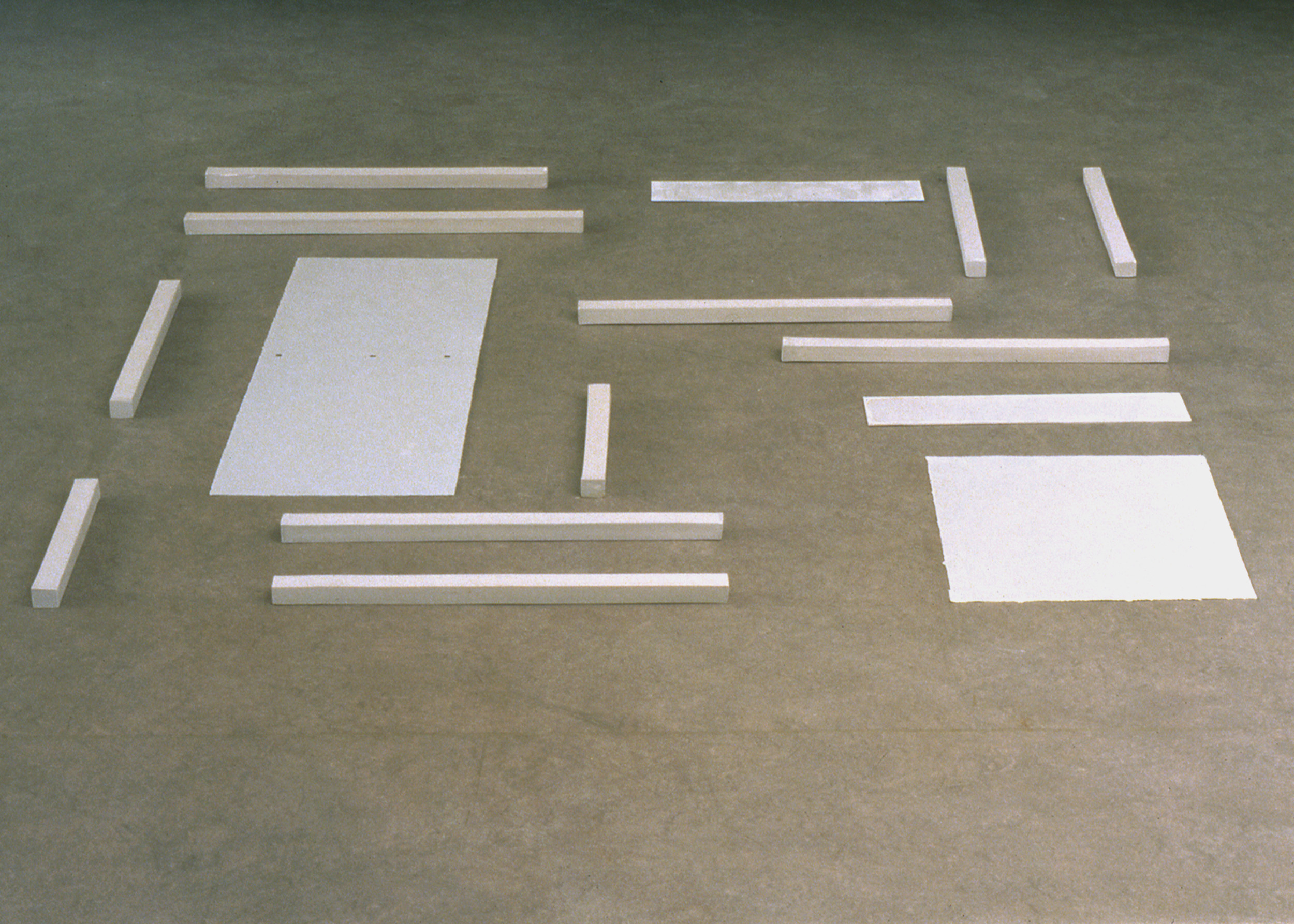 After Rietveld, 1997  Delft Porcelain,5' x 5' x 5'