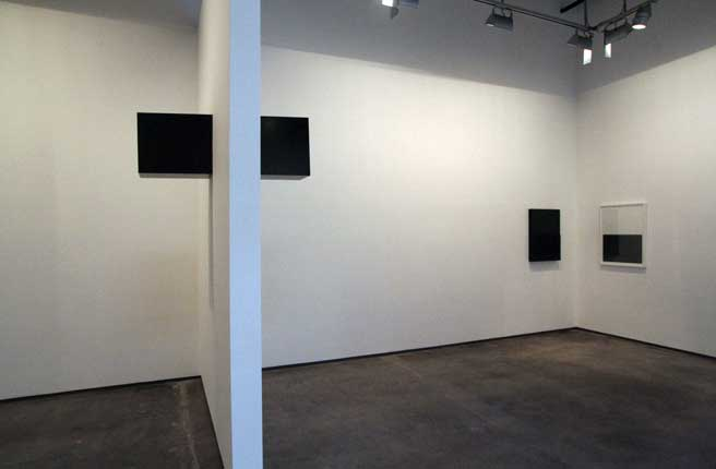 """Tilted Wedge, 2010  Solid graphite,17.75' x 47.63'x 10.5""""  Photo: Stephen Husbands"""