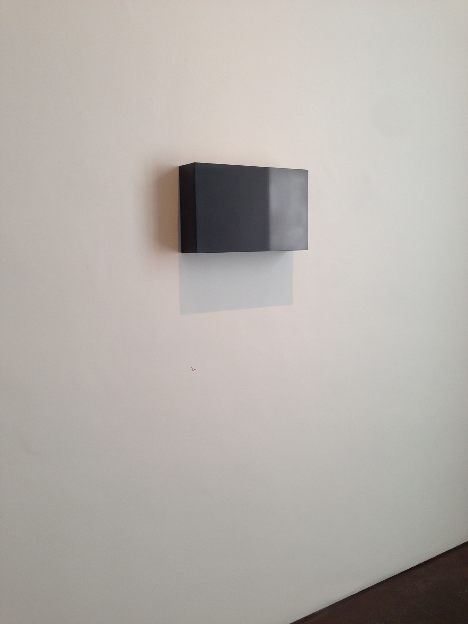 """Double Golden Mean: Merged, 2015  Solid graphite, 10""""x 16"""" x 4""""  Collezione Augie B."""