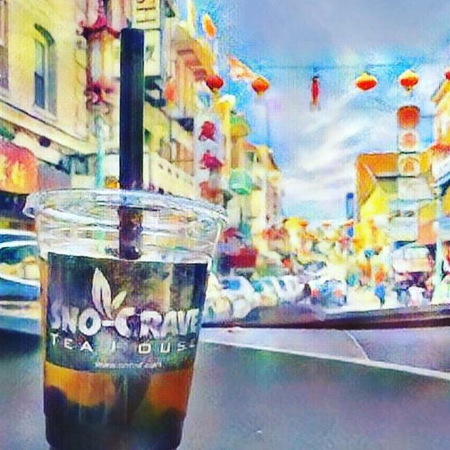 Boba Rose Traveled to China-Town Today.. little field trip of the day. . .. ... #snocravesf #cravedasno #boba #bubbletea #travel #chinatown