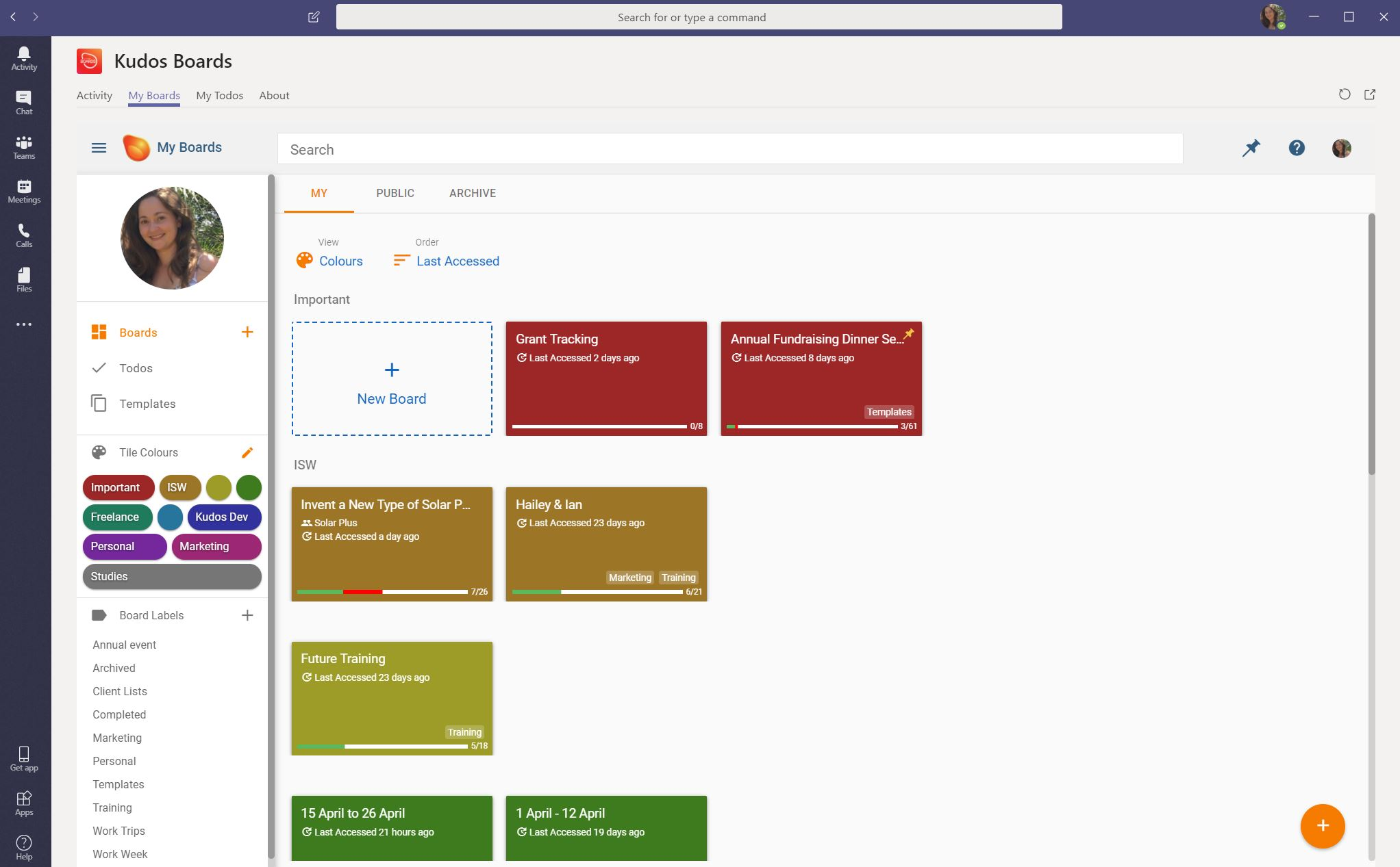 my_kudos_boards_in_microsoft_teams_my_boards_dashboard_page.JPG
