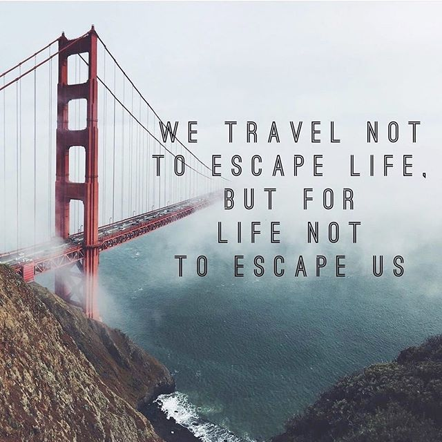 Don't let life escape you. briannastravel.com