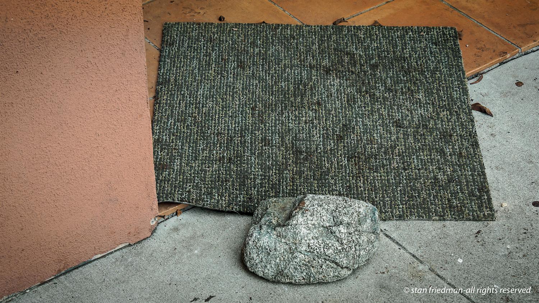 Still Life With Doormat . . . . .