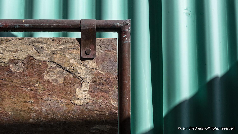 Fiberglass, Brass, Stone