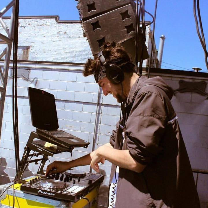 Here's me DJing at GoFest17 at Cabooze Outdoors for 3,500 people. I promise, if you choose me to DJ your wedding, I will wear something much more formal than this