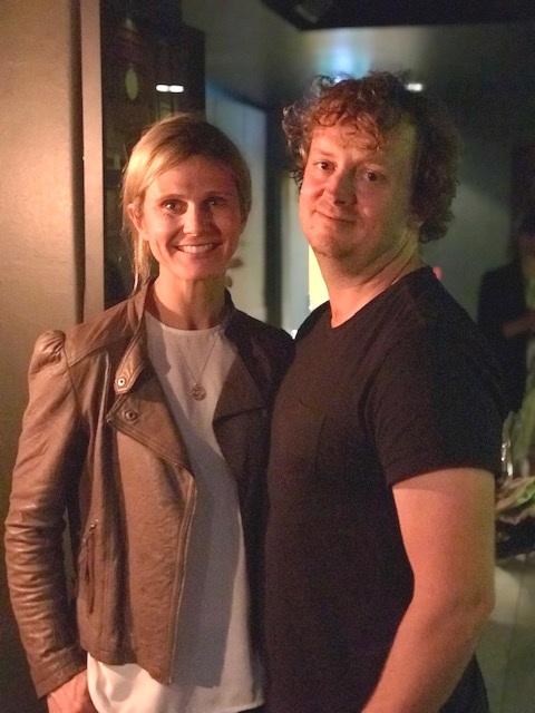 Winemaker Julian Langworthy and Cheese maker Alana Langworthy