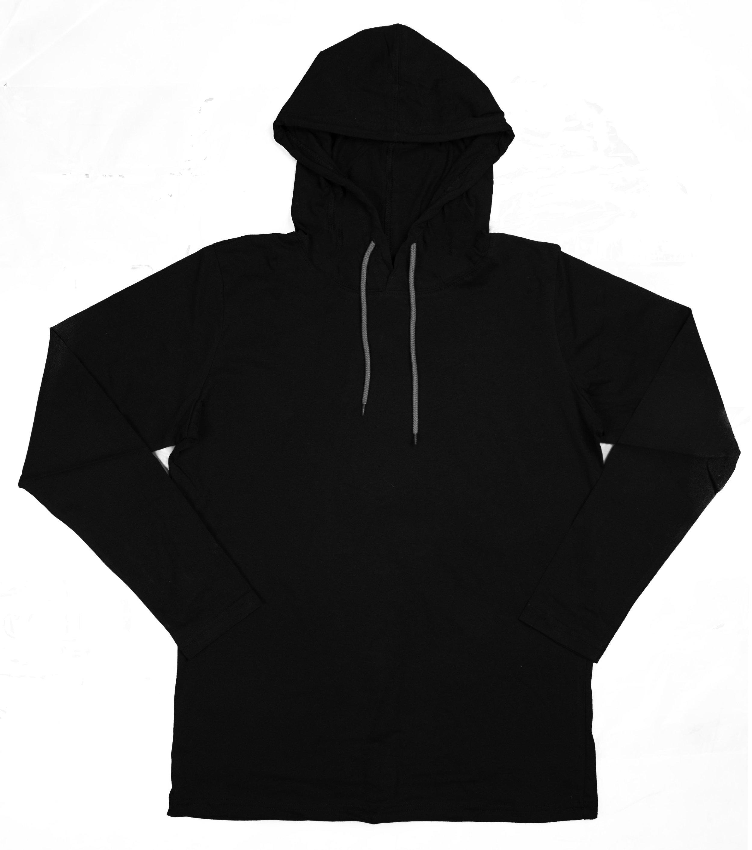 M13 - Mens Long Sleeve Tee Hoodie