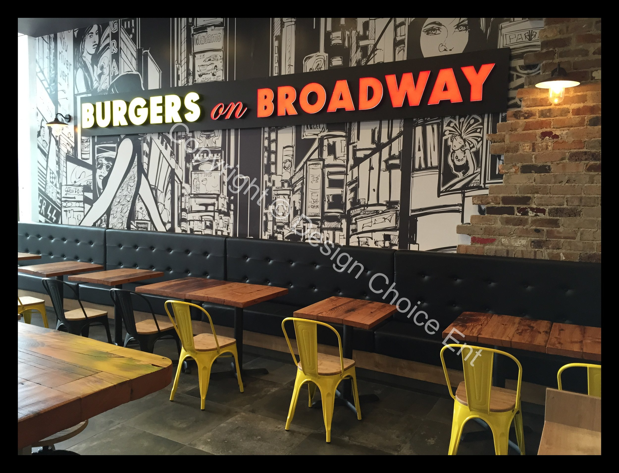 BURGERS ON BROADWAY -
