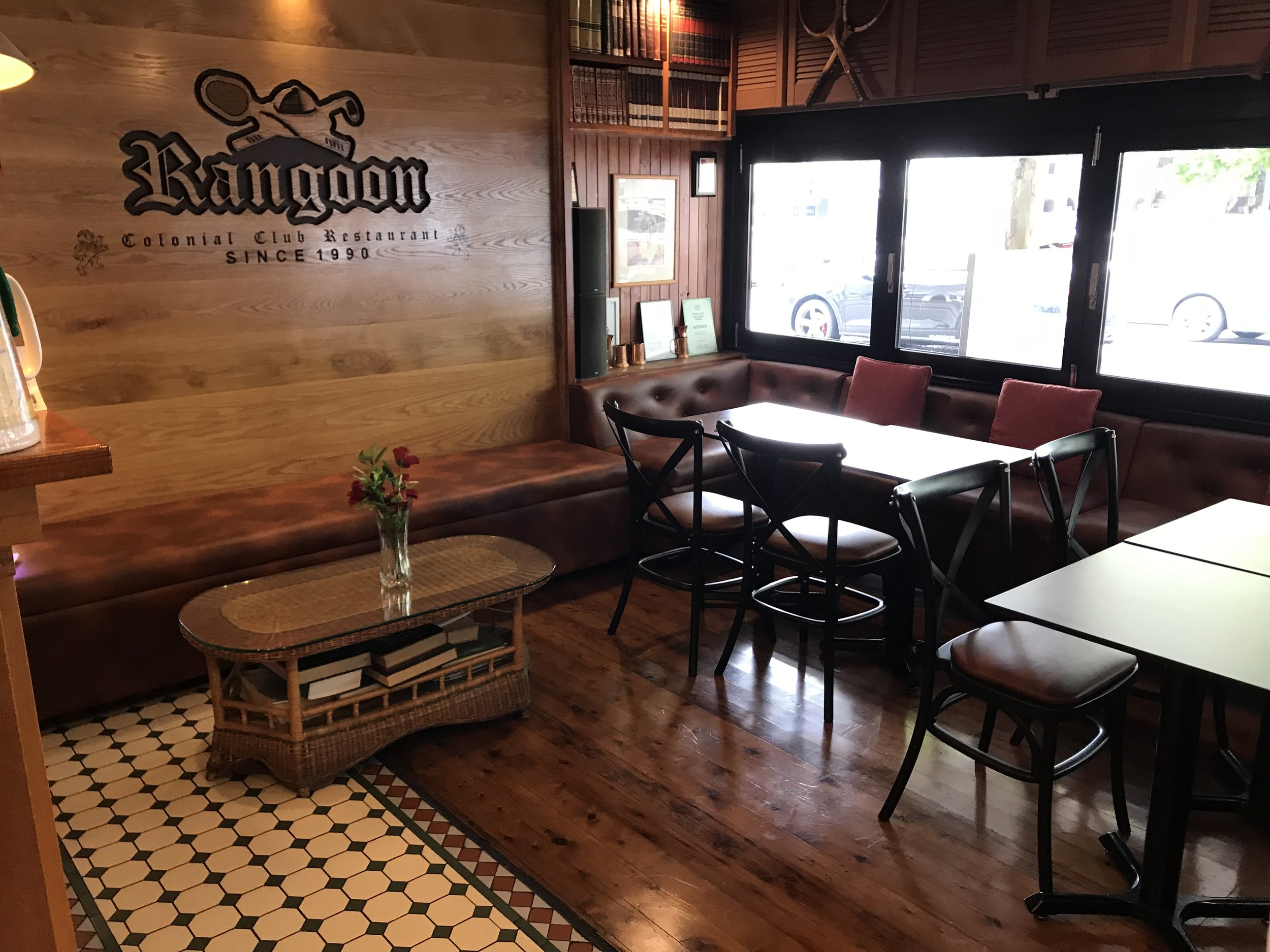 RANGOON RESTAURANT -
