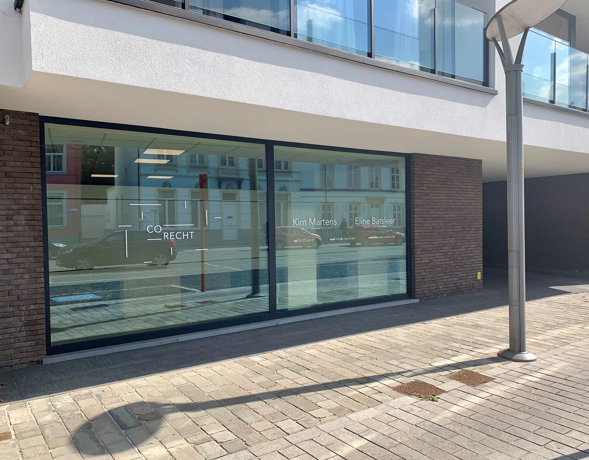 Ons kantoor - CO.RECHT is gevestigd in het centrum van Waarschoot (Lievegem).