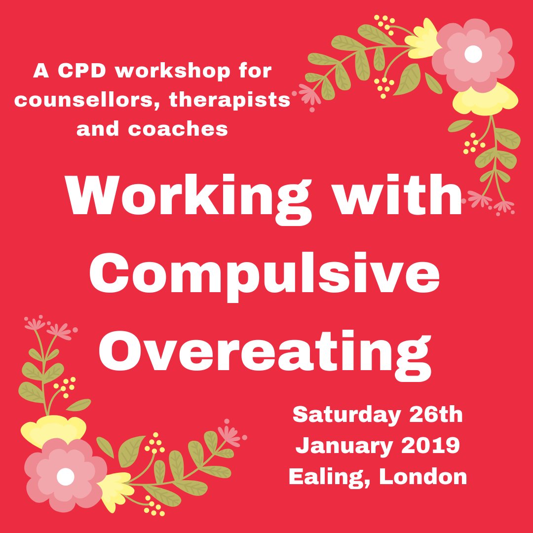 Tickets now on sale for CPD workshop on Saturday 26th January 2019. - For more information, click here.