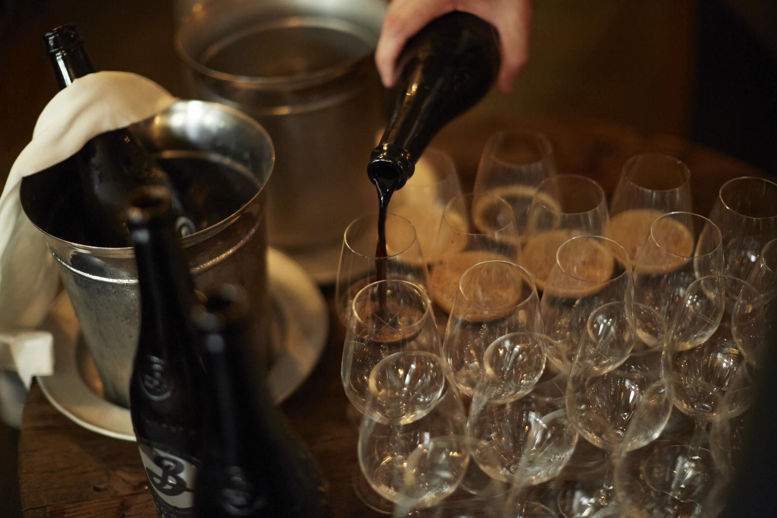 Brooklyn Brewery - Pairing dinner at Septime restaurant /  PR, communication, promotion, VIP and influencers invitation.