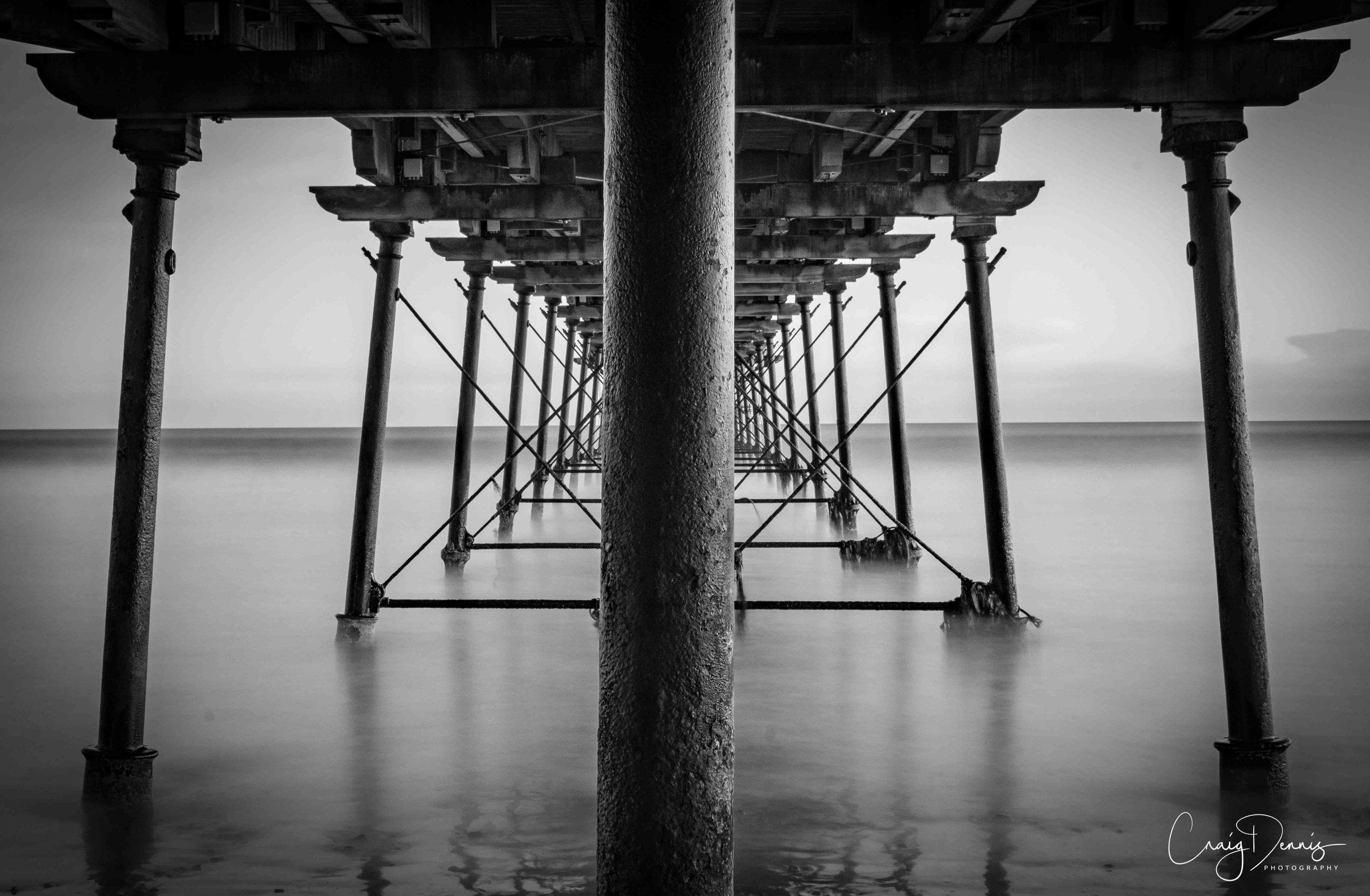 From under Saltburn Pier - 2017