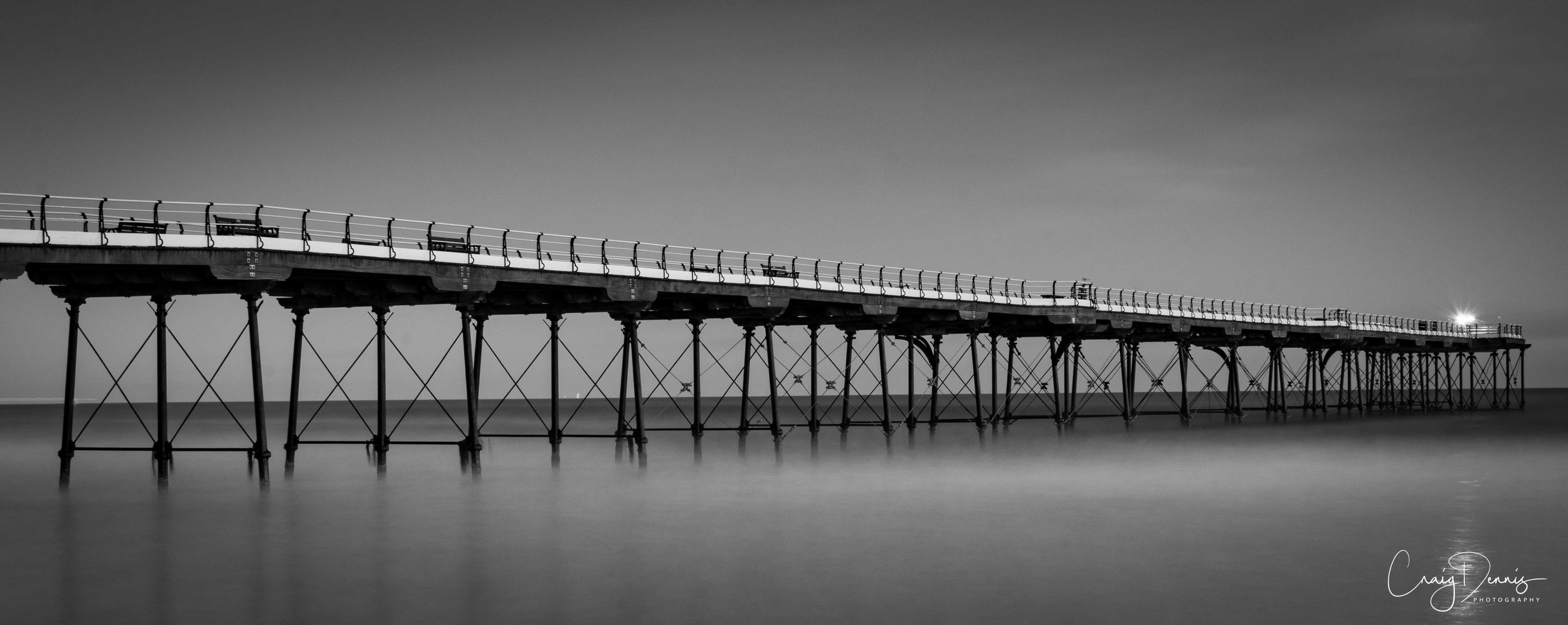 Light at the end of Saltburn Pier - 2017