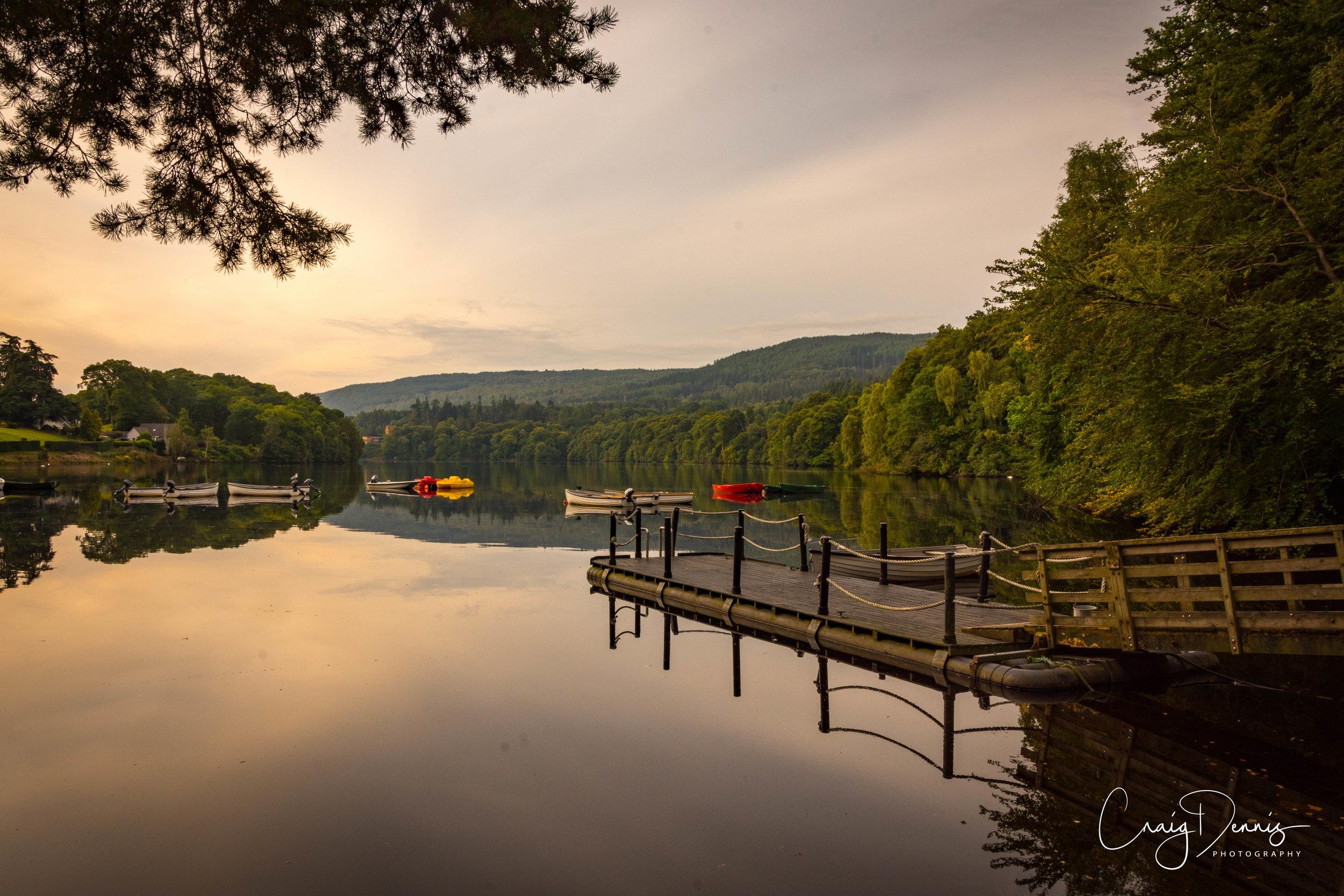 Pitlochry - Loch Fastally