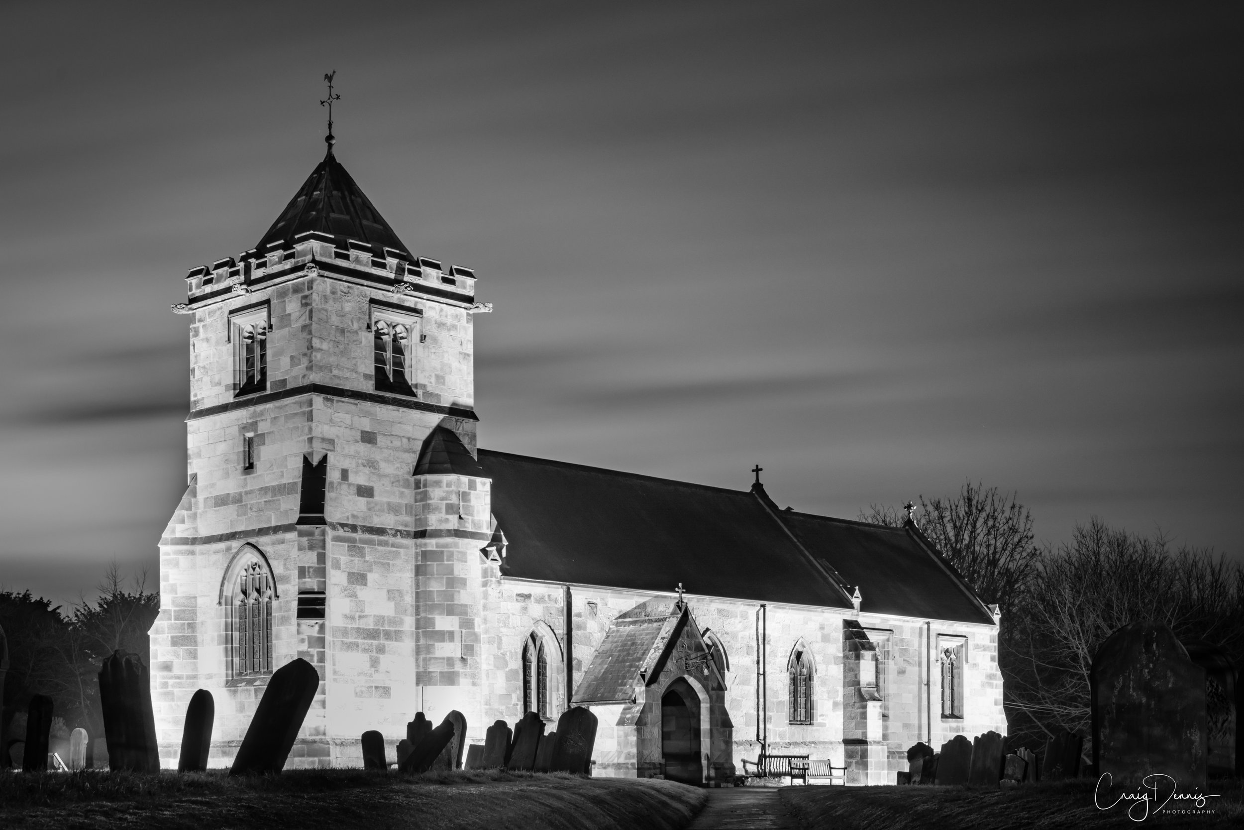 All Saints Church - Crathorne N-Yorks