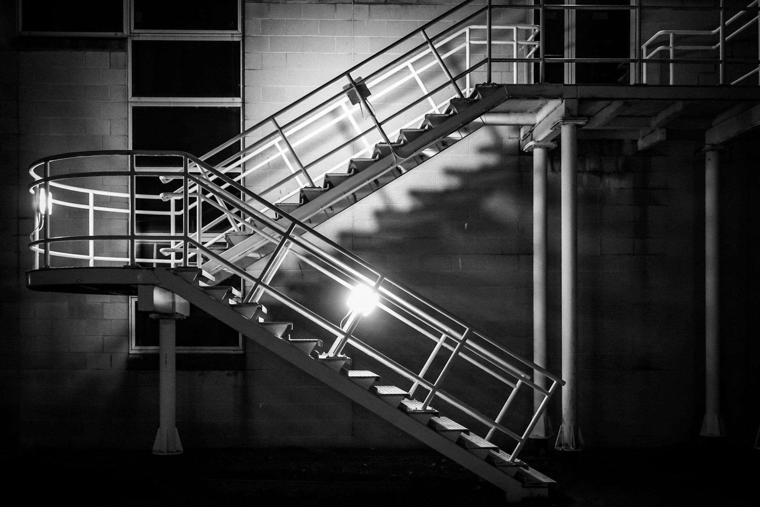 Staircase Durham University - Stockton