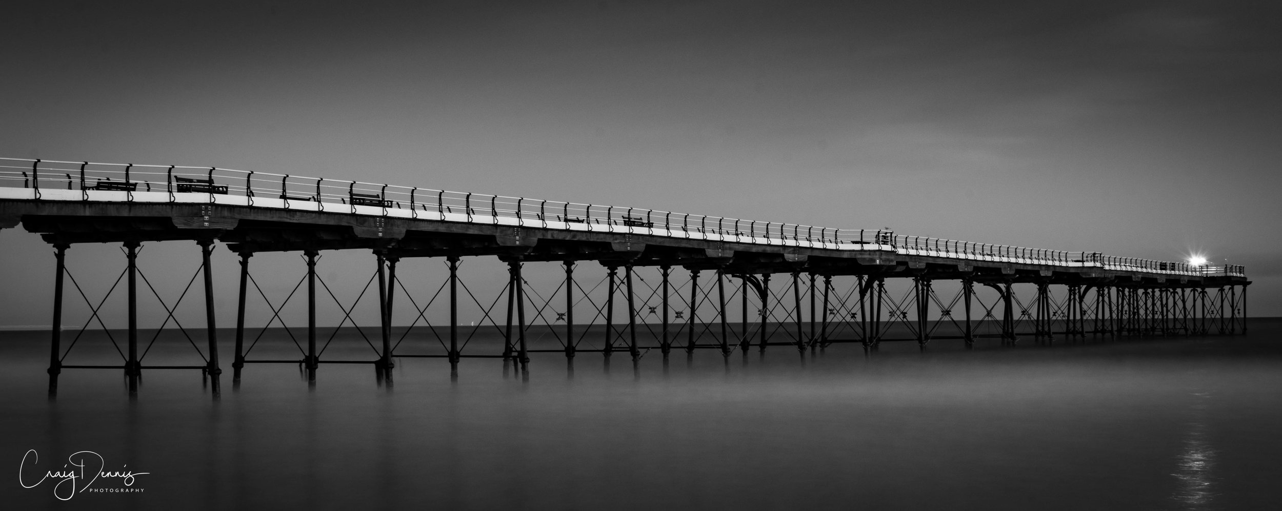 Light at the end of Saltburn Pier
